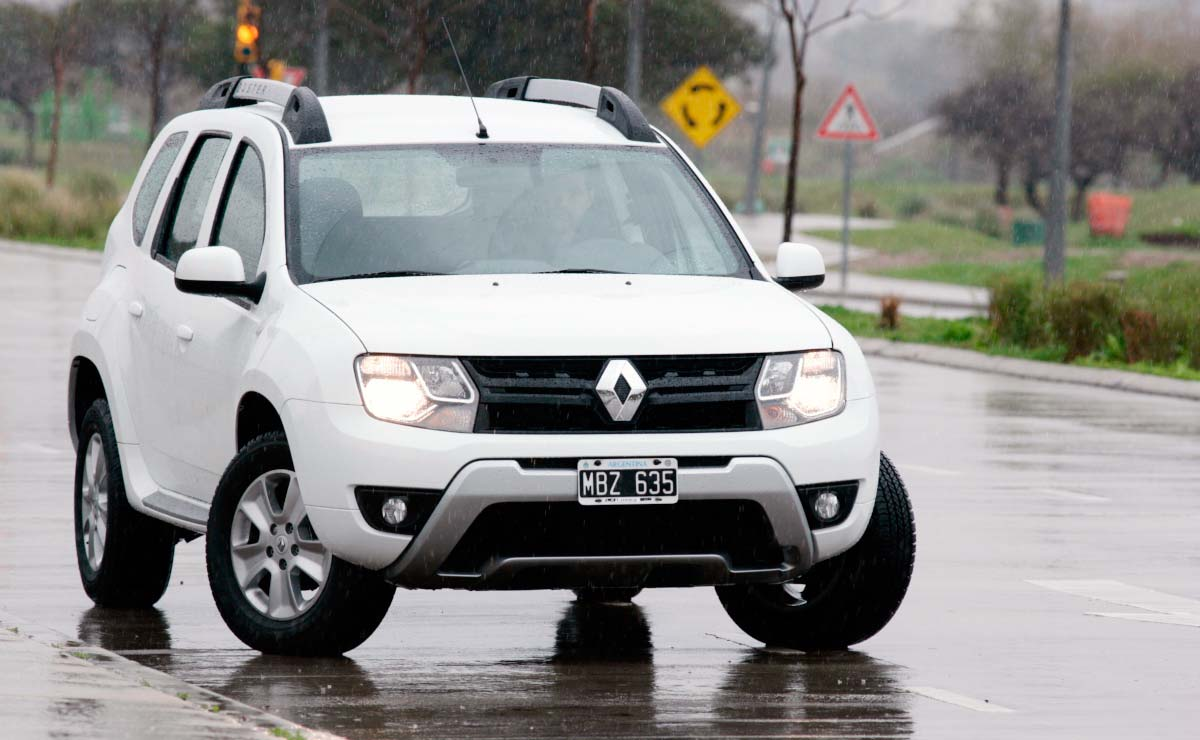 Renault Duster Privilege frente
