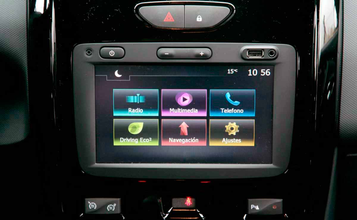 Renault Duster Privilege multimedia