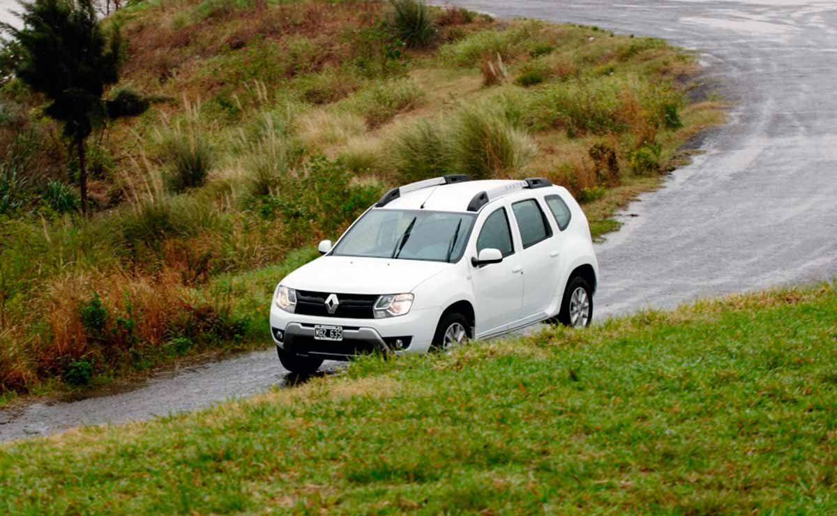 Renault Duster Privilege ruta