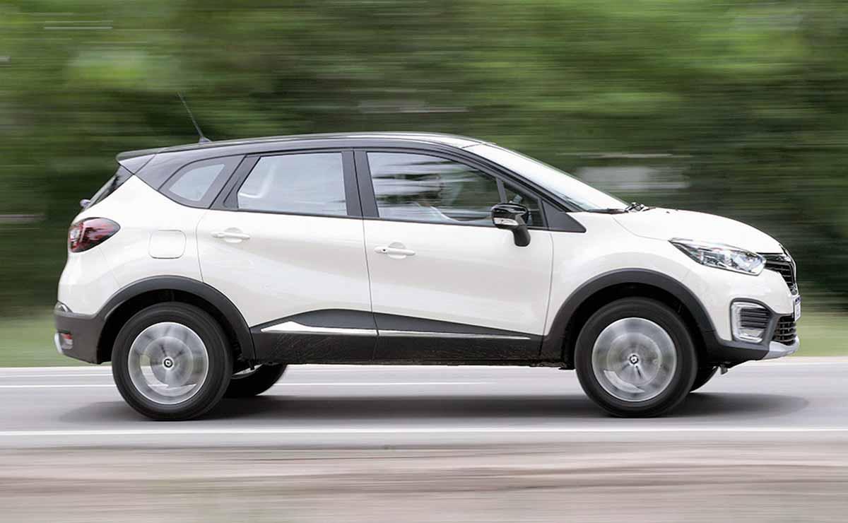 Renault Captur Intense lateral