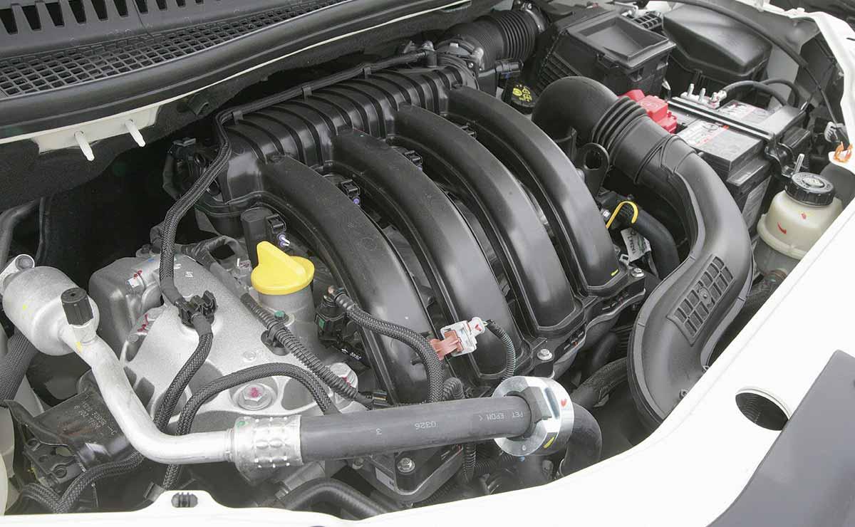 Renault Captur Intense motor