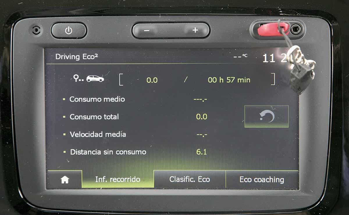 Renault Captur Intense pantalla
