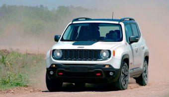 Jeep Renegade Trailhawk andando