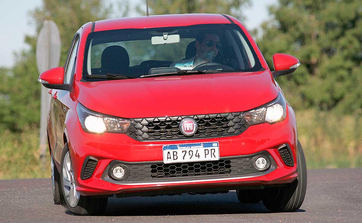 Fiat Argo Drive frente