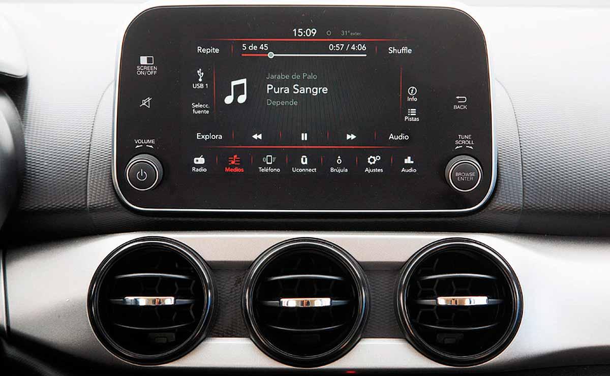 Fiat Argo Drive pantalla