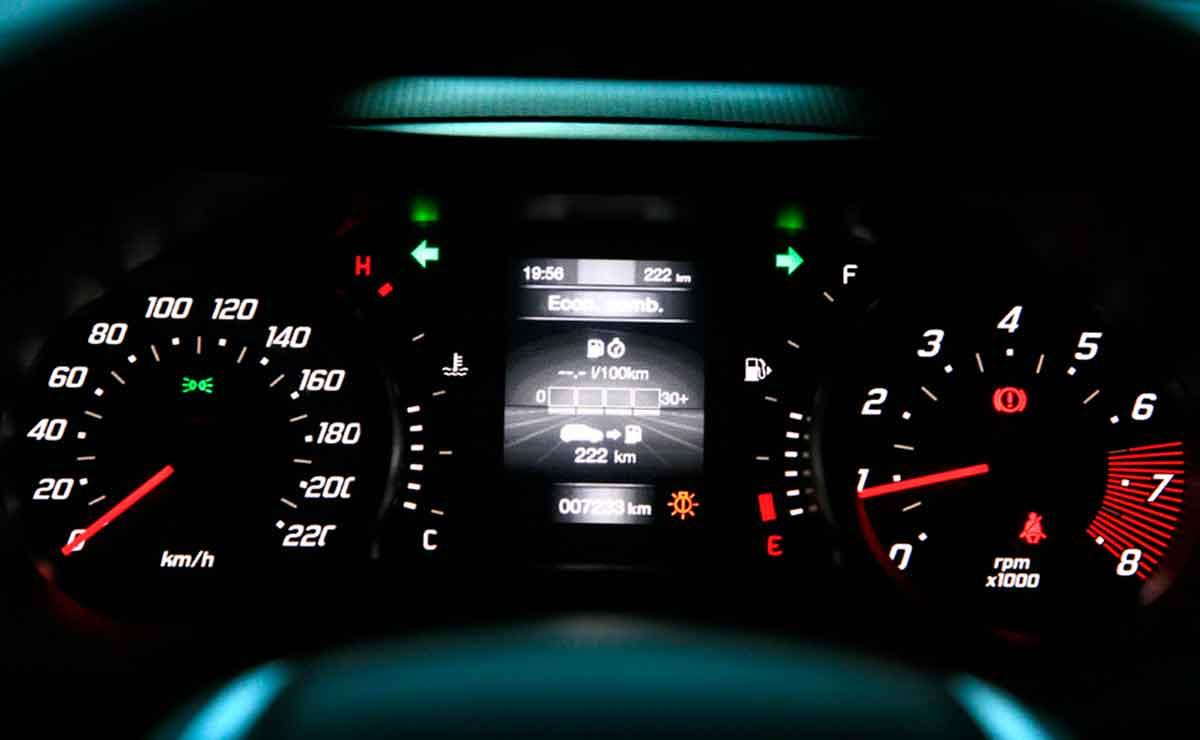 Fiat Argo Drive tablero