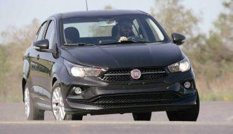 Fiat Cronos Drive frente