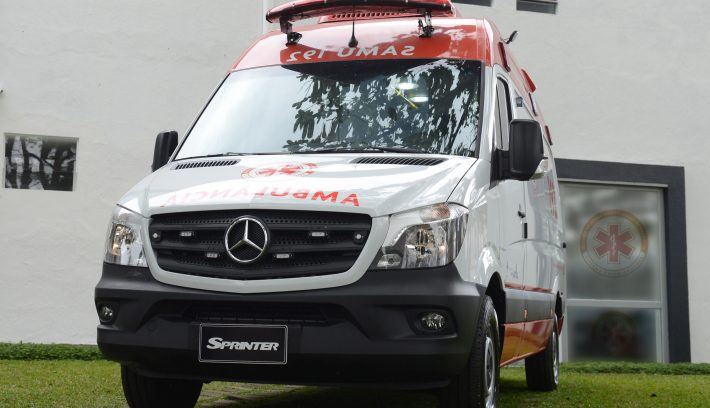 Mercedes Benz Argentina proveerá 1.500 Sprinter a Brasil para ser utilizadas como ambulancias. Foto 1