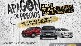 Apagón de precios Chevrolet