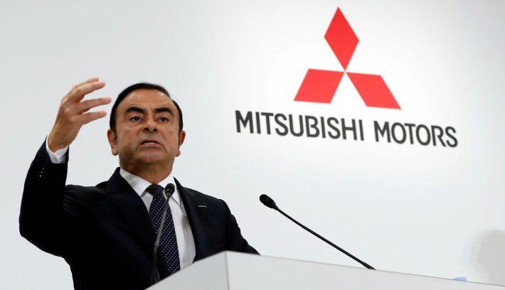 Carlos Ghosn Mitsubishi
