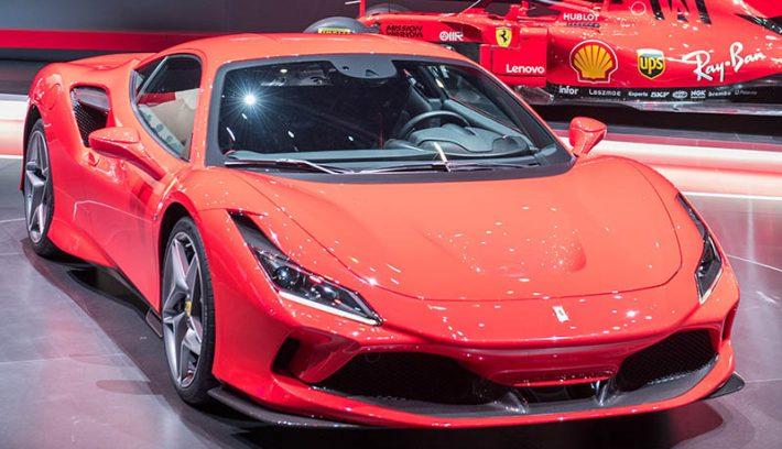 Ferrari F8 tributo GINEBRA OK