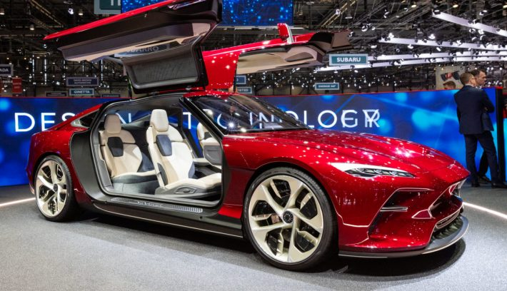 Italdesign JcVinci Concept Electrique 2019 GIMS Geneva 0G3A2569 1280x854