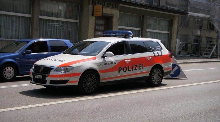 policía de suiza