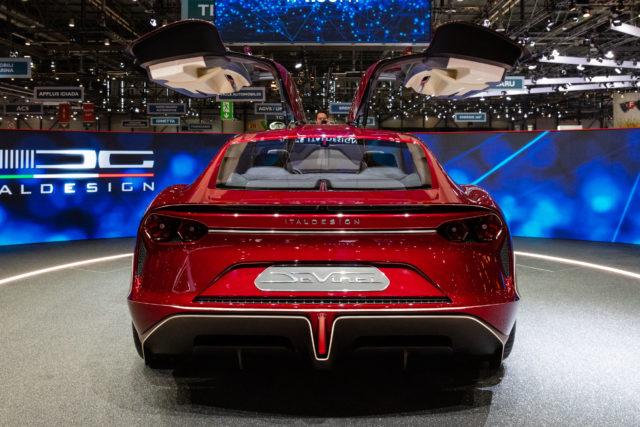 Italdesign JcVinci Concept Electrique 2019 GIMS Geneva 0G3A2562