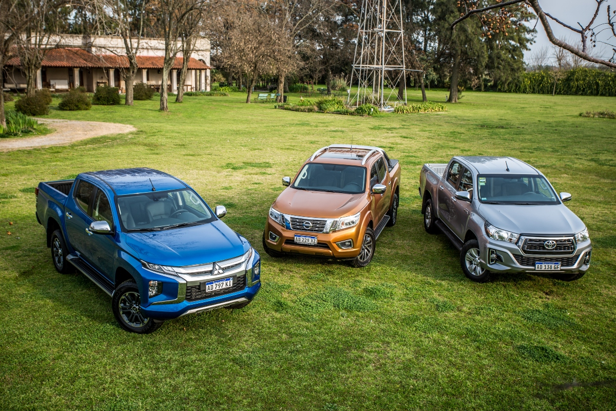 Auto Test comparativo pick ups