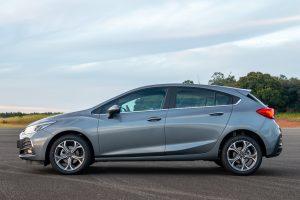 Chevrolet Cruze Premier con Wifi Hatch lateral