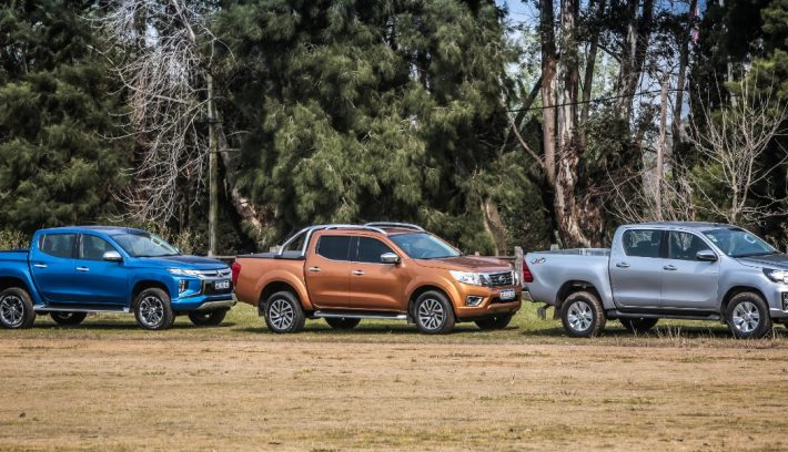 Comparativo auto test pick ups laterales