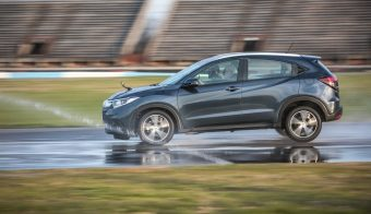 Master Test Honda HR V MOJADO
