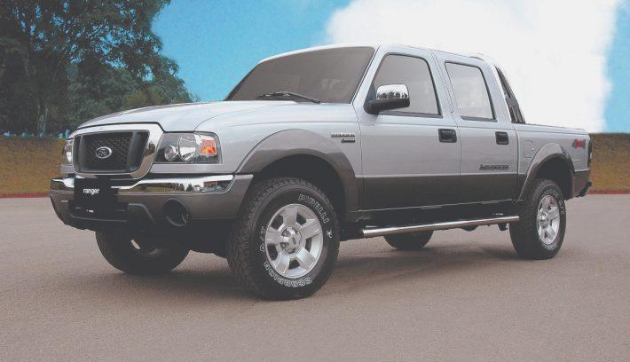 Ford Ranger vieja Apertura