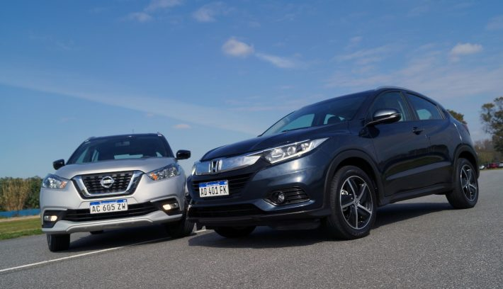Nissan Kicks vs Honda HR V 2
