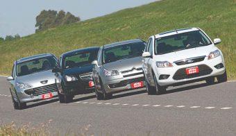 Peugeot-307-Chevrolet-Vectra-Citroen-C4-Ford-Focus-cual-es-mejor