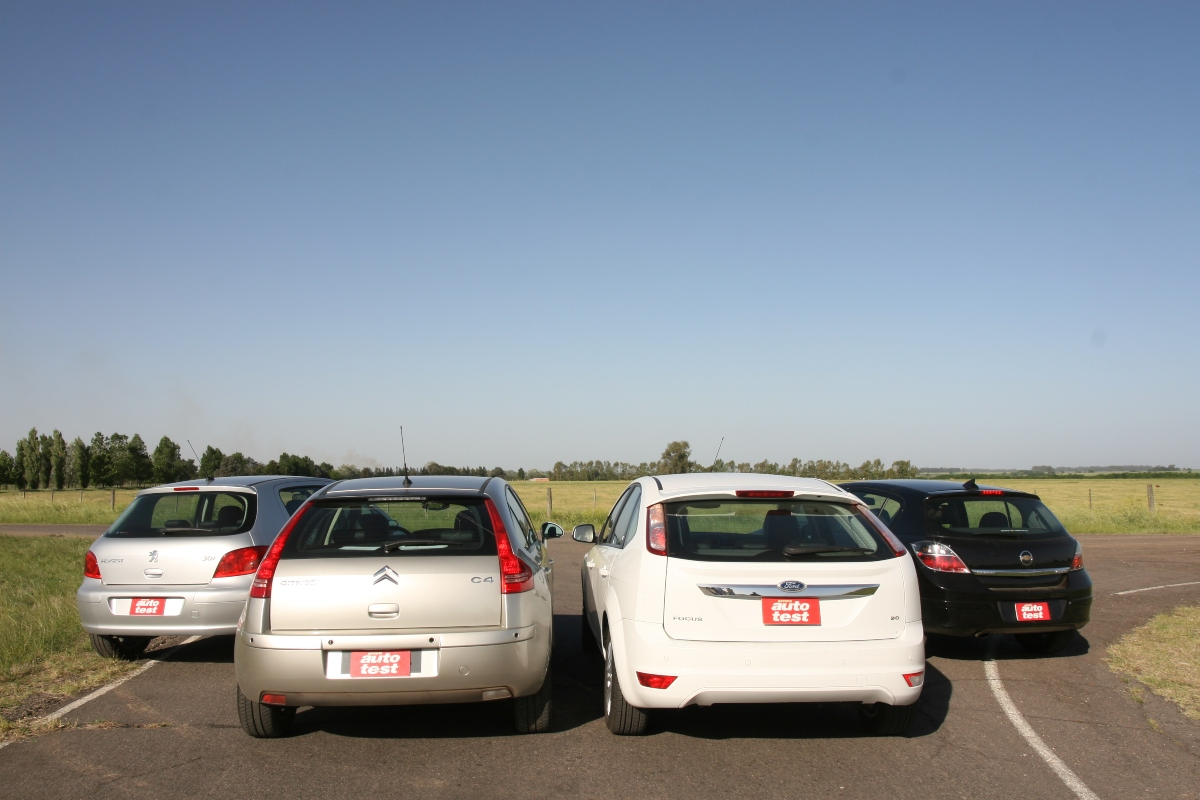 comparativo hatchbacks