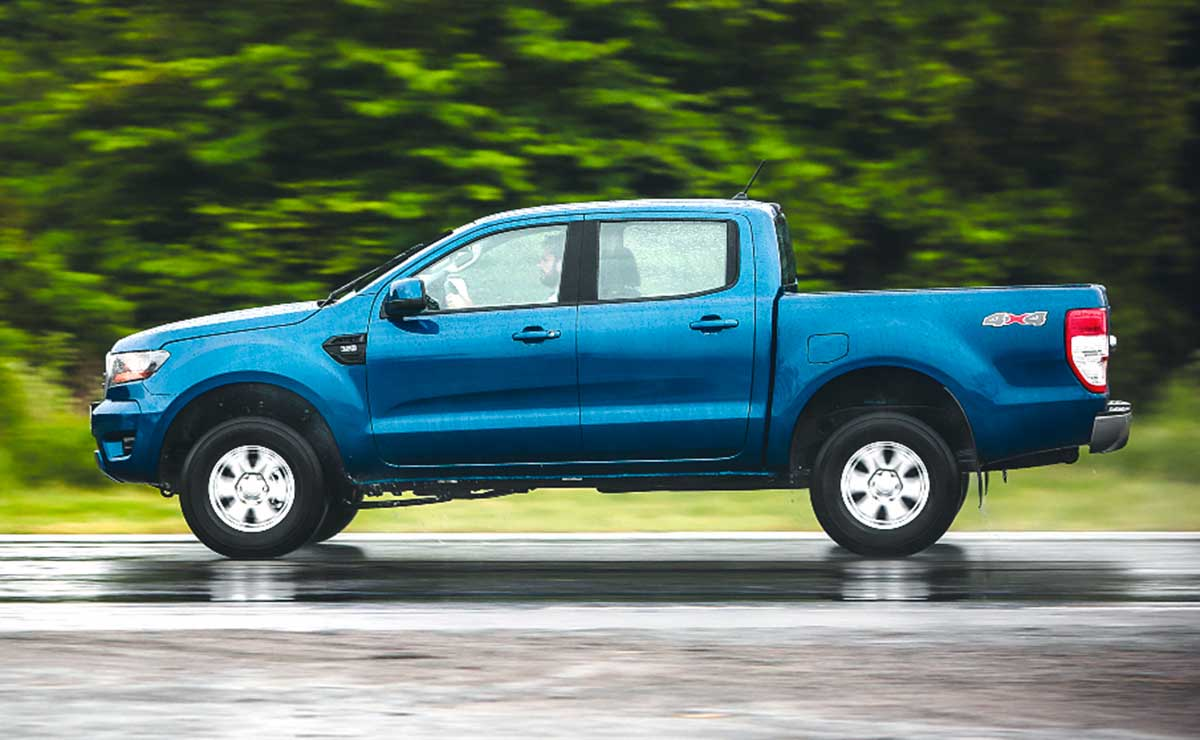 ford ranger xls 2020 lateral