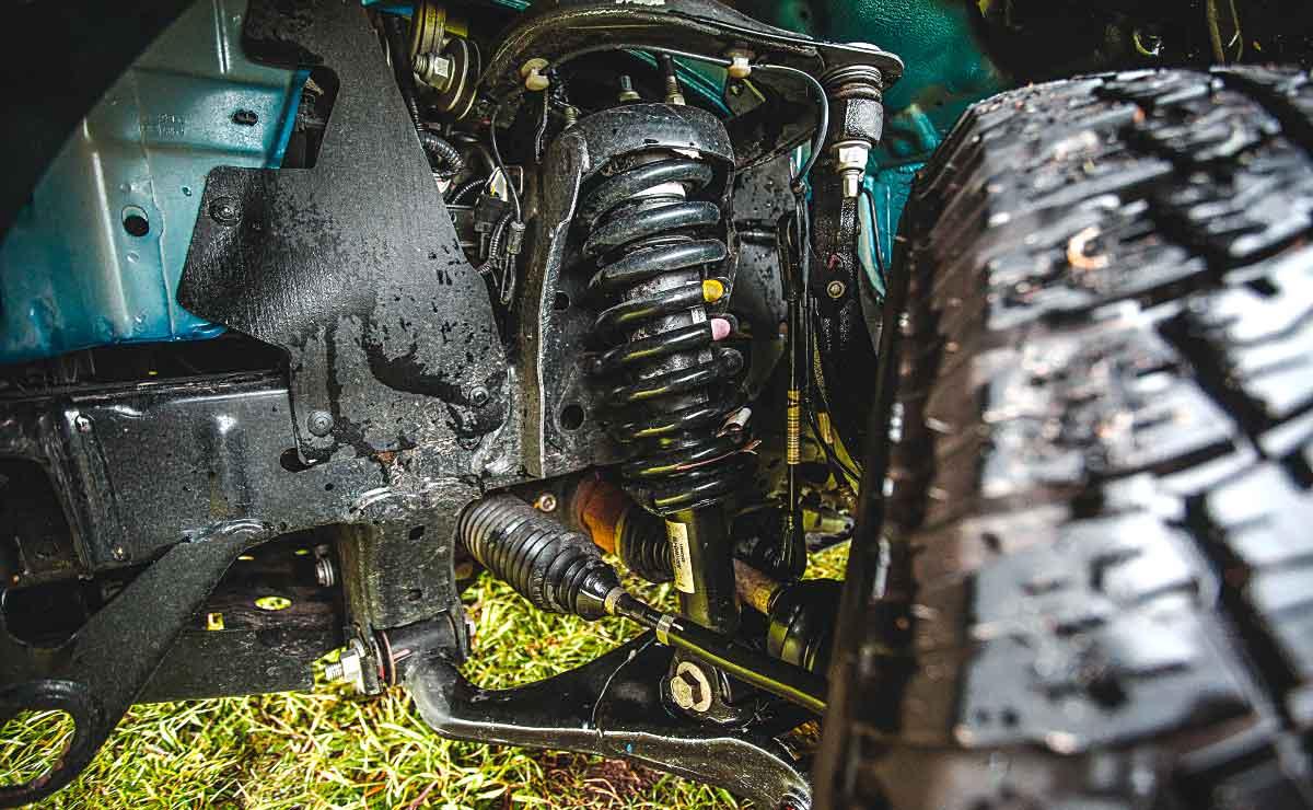 ford ranger xls 2020 suspensiones