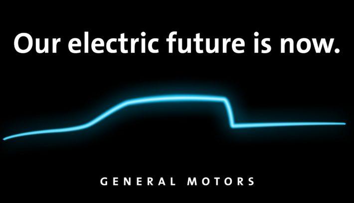 GM anuncio pick up electrica 1