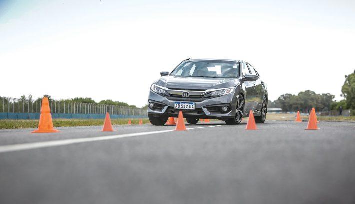 Honda Civic Master Test alce