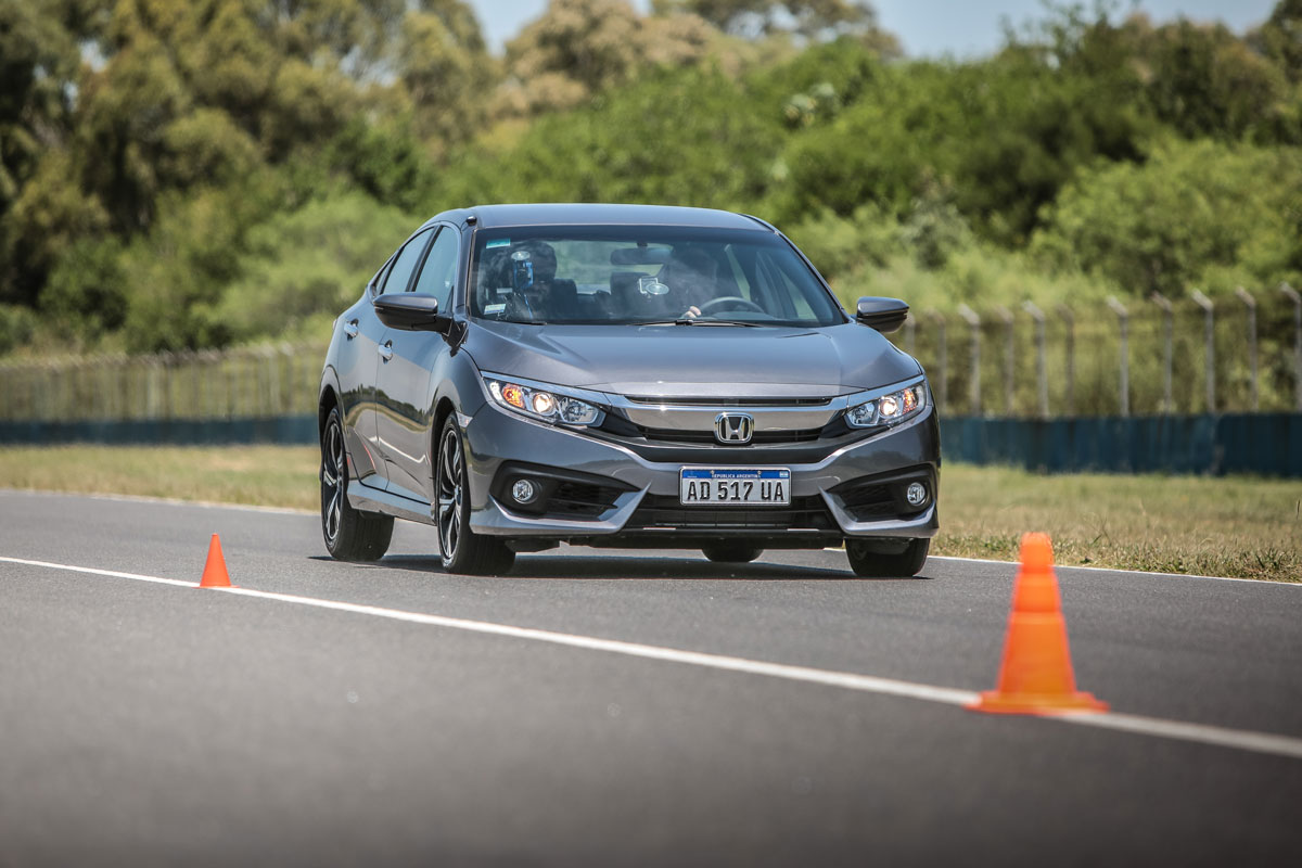 Honda Civic Master Test frenando