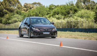 Nuevo Corolla Master Test frenando