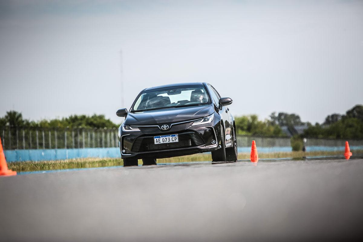 Nuevo Corolla Master Test slalom