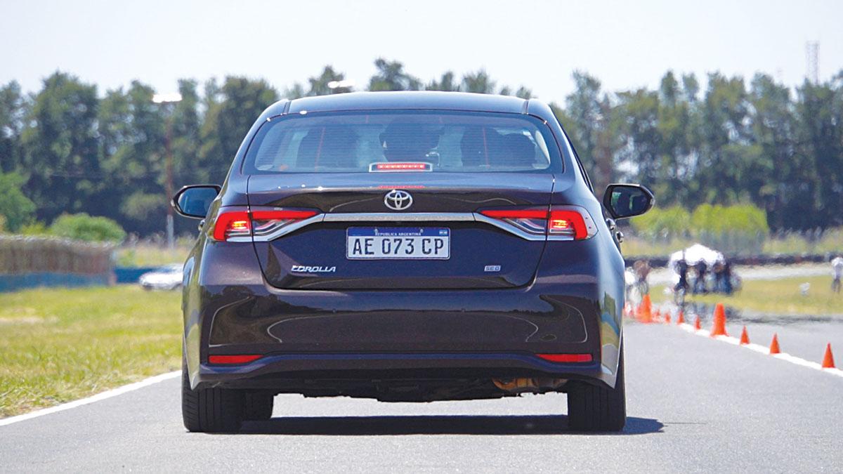 Nuevo Corolla Master Test stop