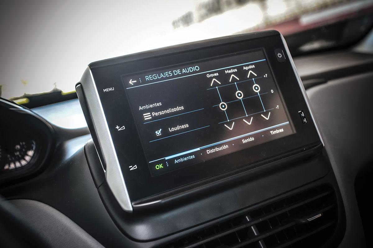 Peugeot 208 In Concert balanca audio