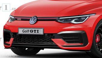 volkswagen golf gti 2020 render de motor1 com