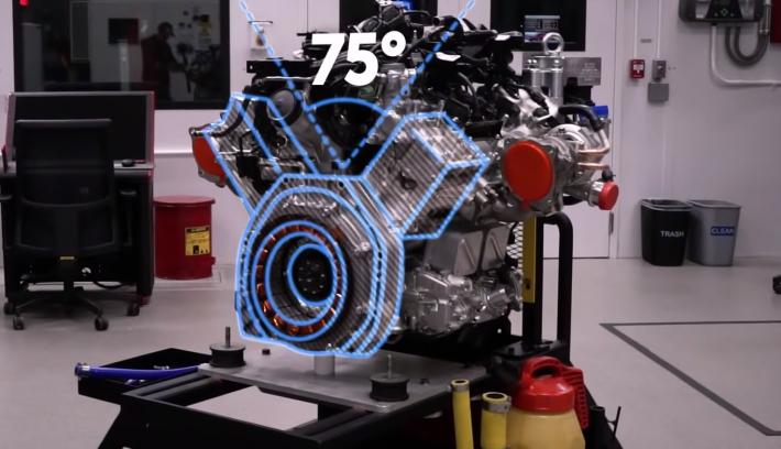 motor NSX