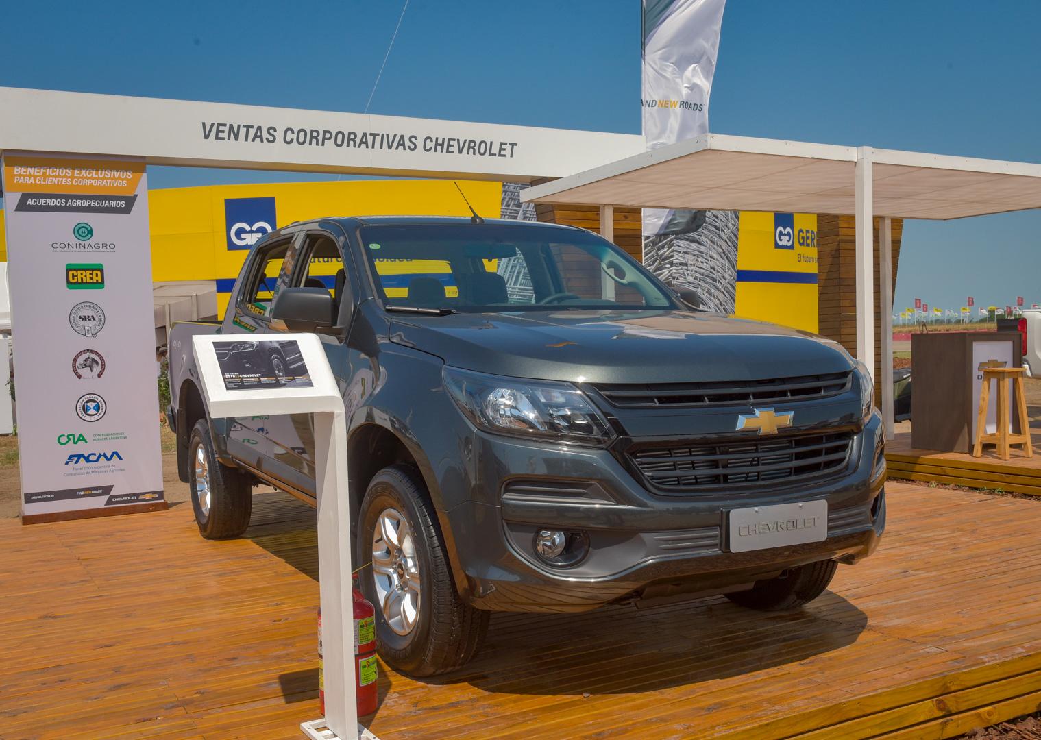 El stand de Chevrolet en Expoagro ofrece beneficios exclusivos y descuentos en servicios postventa 1