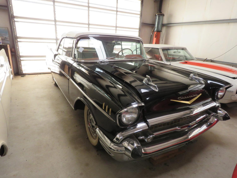 1957 Chevrolet Bel Air Convertible 1
