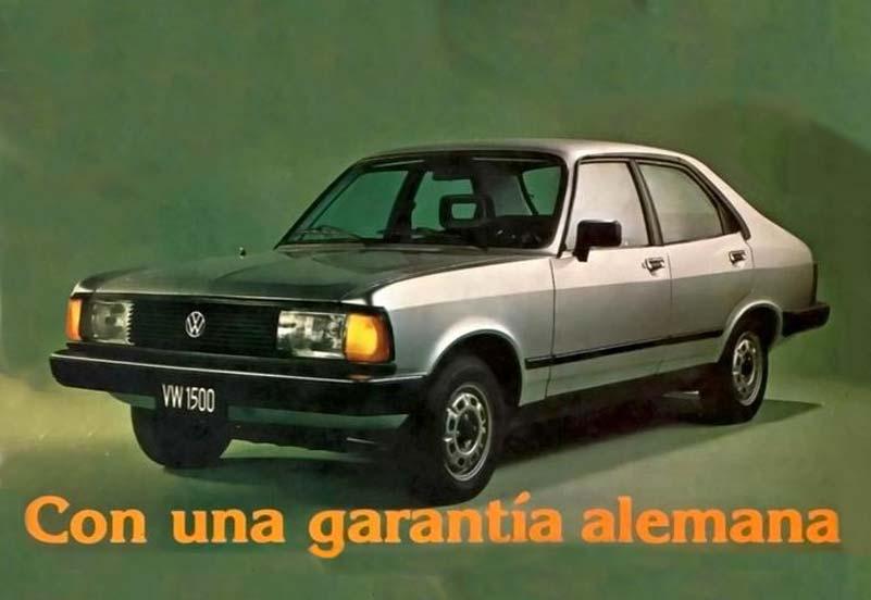 2. VW 1500 1981