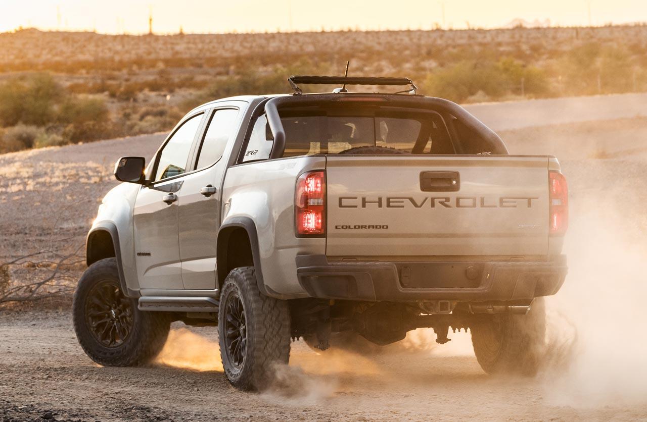 Chevrolet Colorado ZR2 2021 trasera
