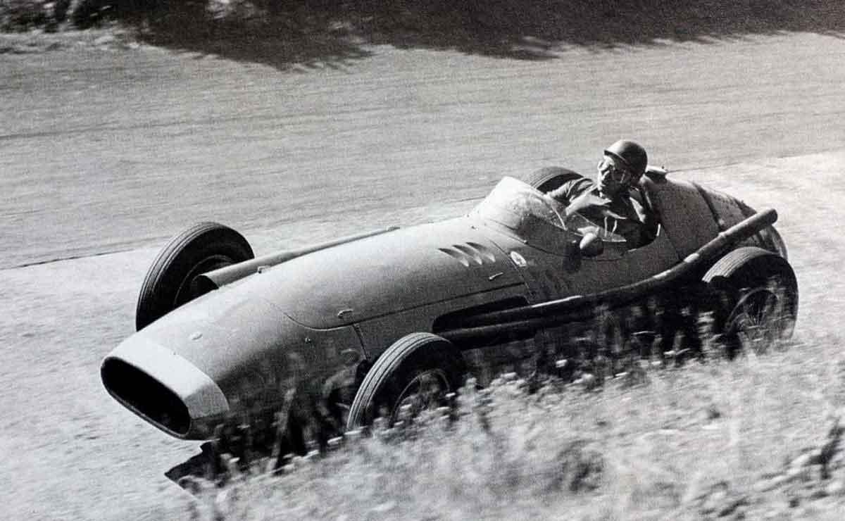 Fangio en accion