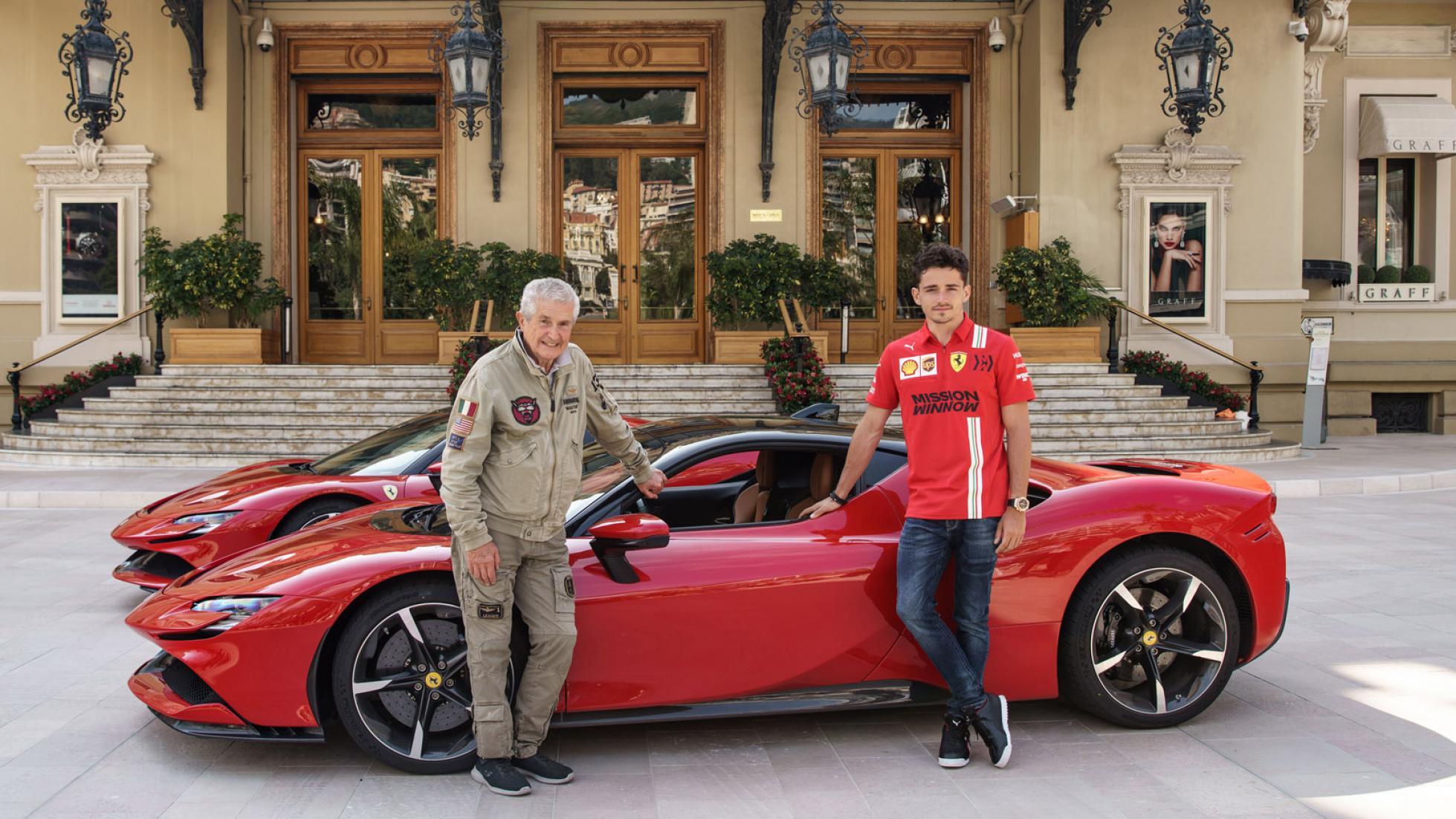 Ferrari Charles Leclerc Monaco 1