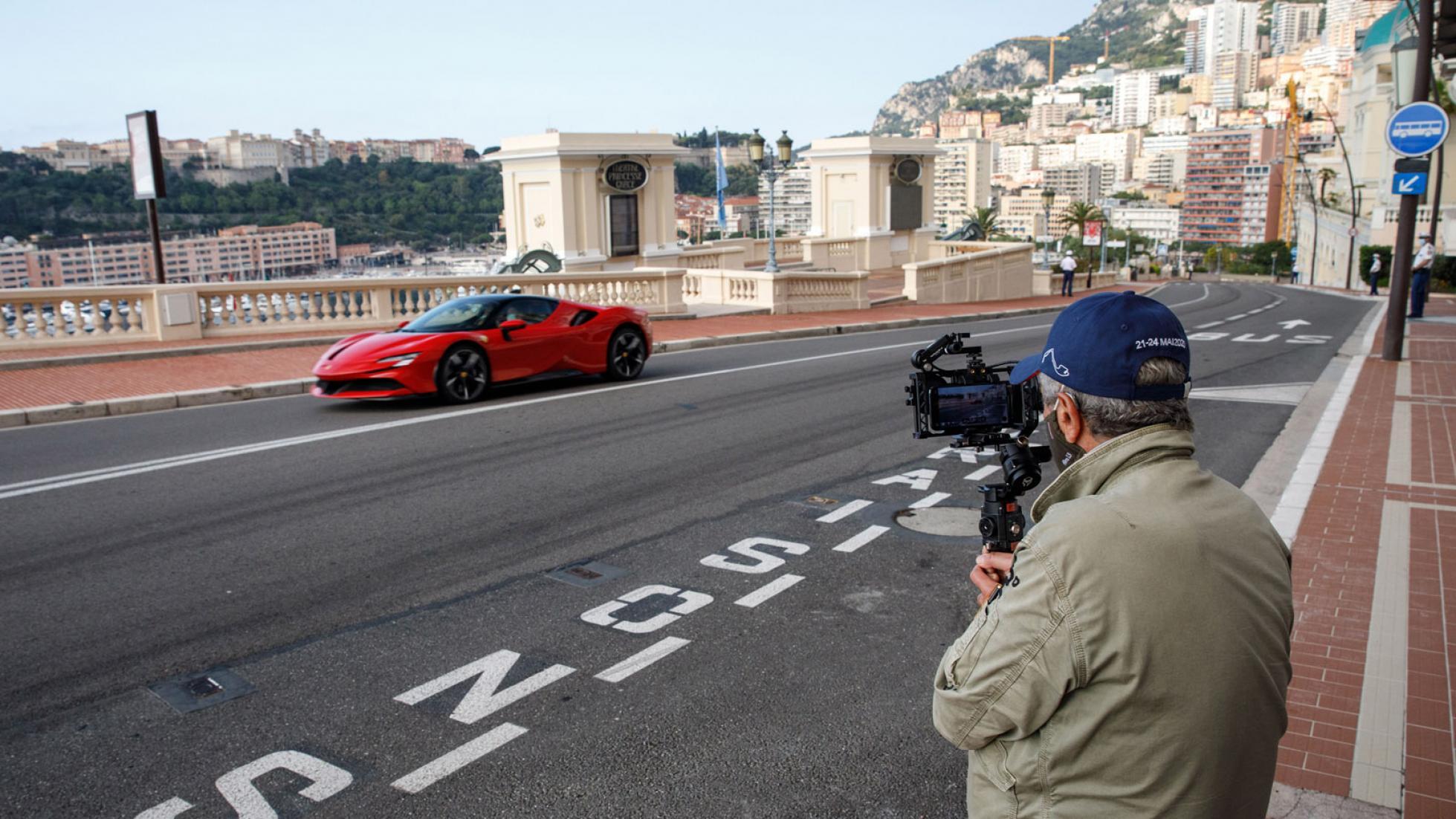 Ferrari Charles Leclerc Monaco 10