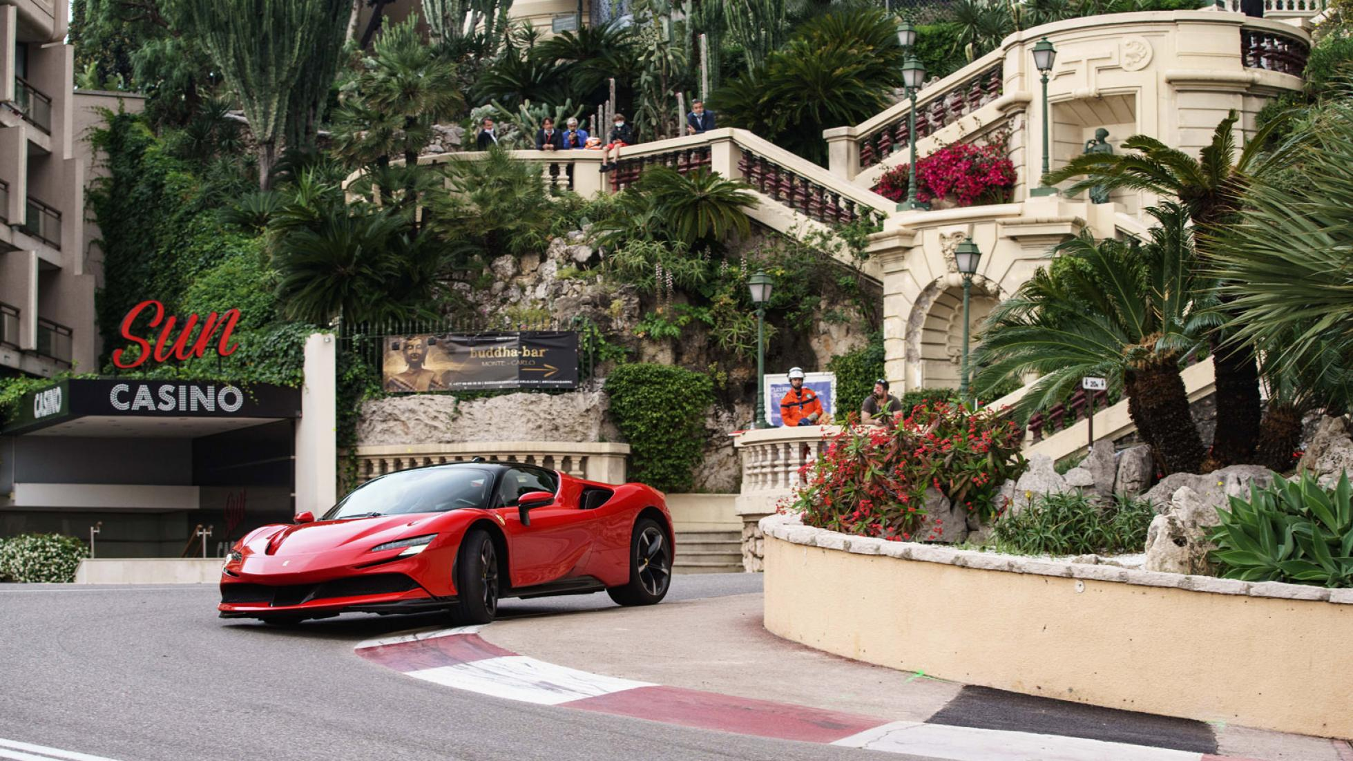 Ferrari Charles Leclerc Monaco 3