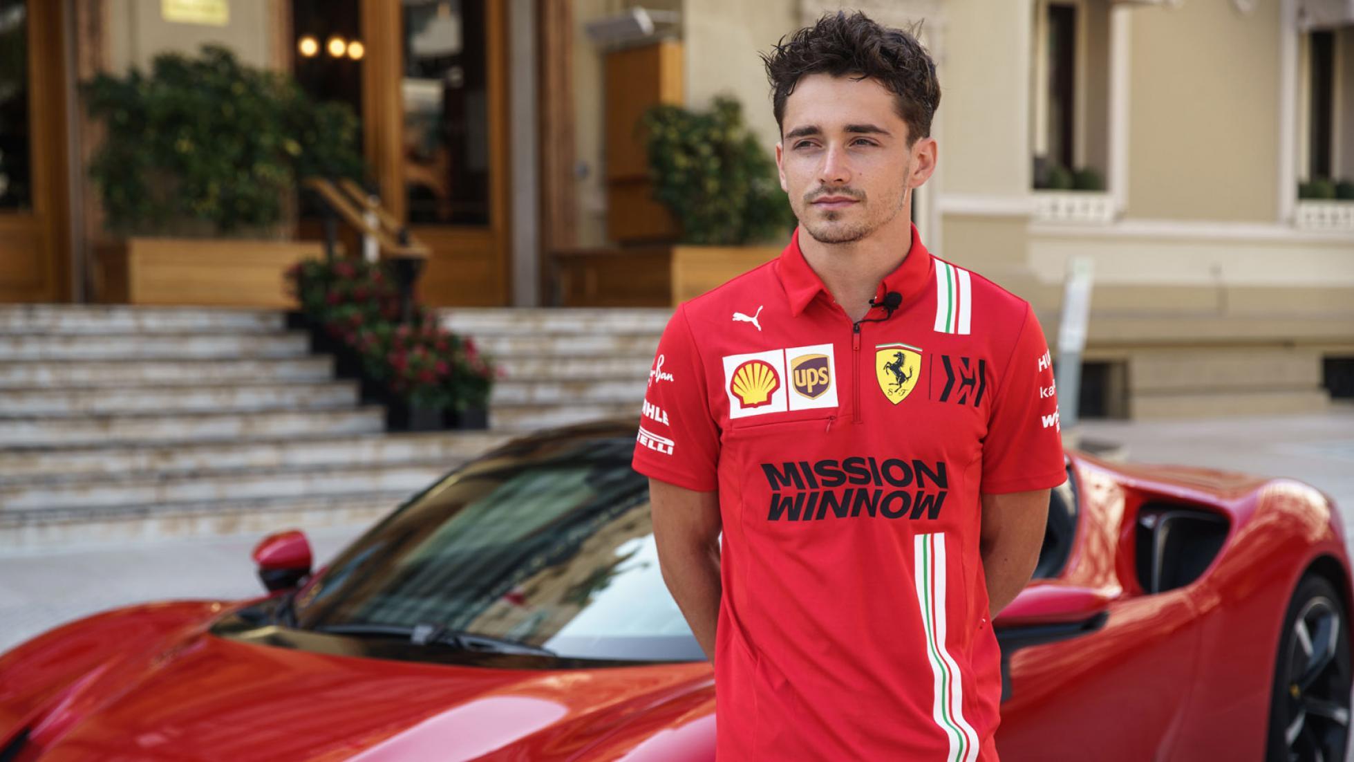Ferrari Charles Leclerc Monaco 5