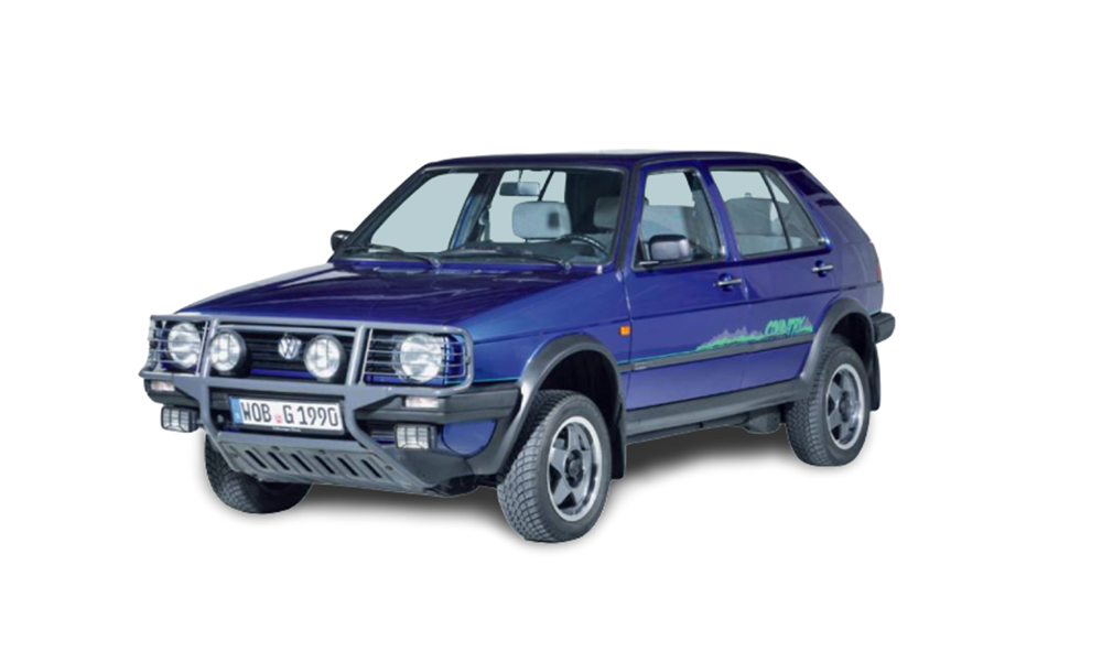VW golf country viejo