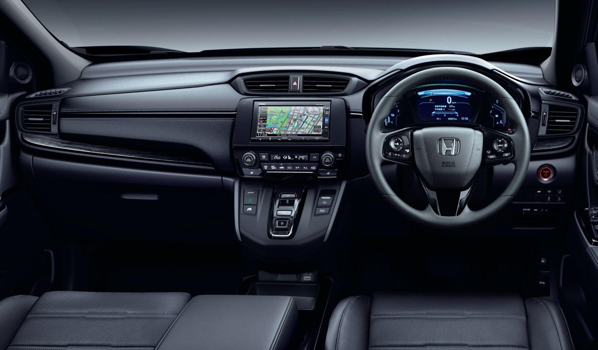2020 Honda CR V eHEV Black Edition JDM spec 10