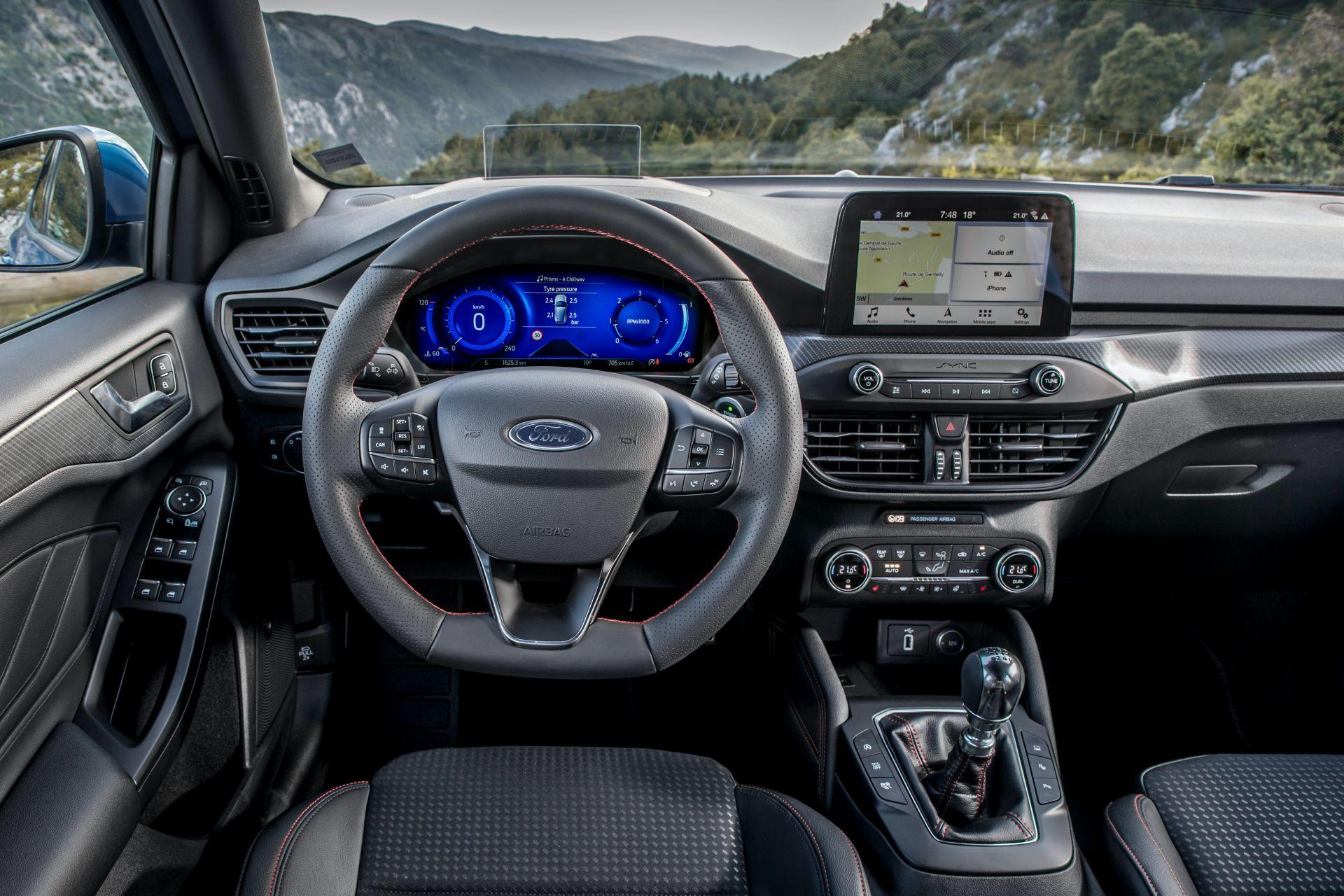 2021 Ford Focus Euro spec 6 1