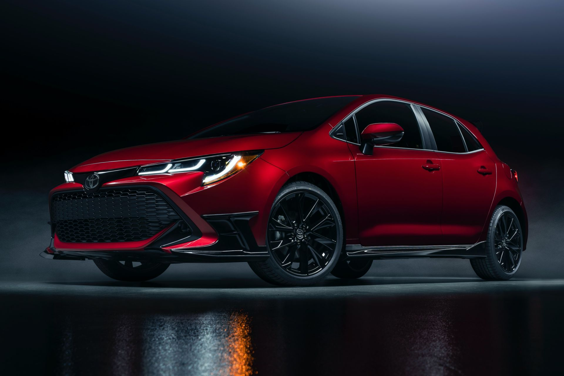 2021 Toyota Corolla Hatchback Special Edition US spec 1